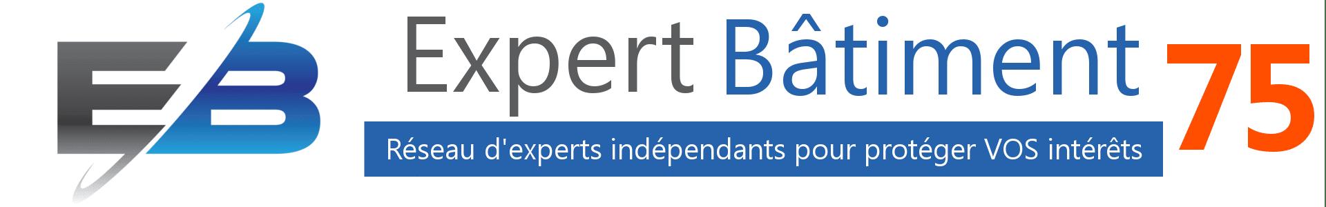 logo expert batiment 75, logo expertise batiment Paris, expert indépendant Paris, expert indépendant 75,