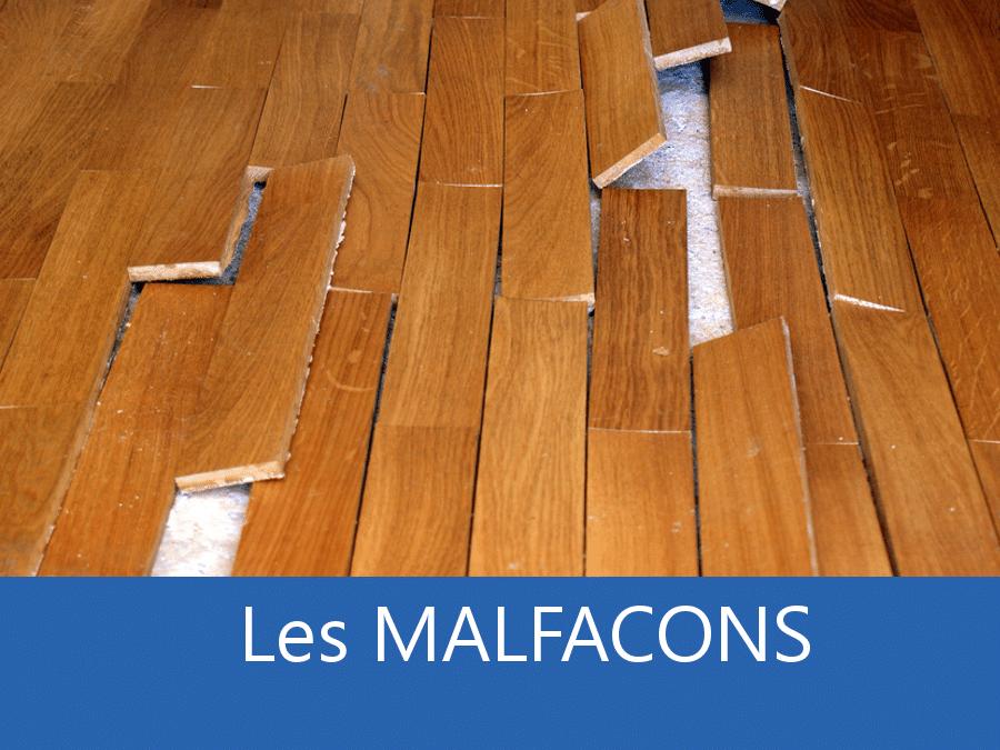 Malfaçons chantier 75, chantier mal fait Paris, malfaçons entreprises bâtiment Paris, malfçon fin de chantier 75,