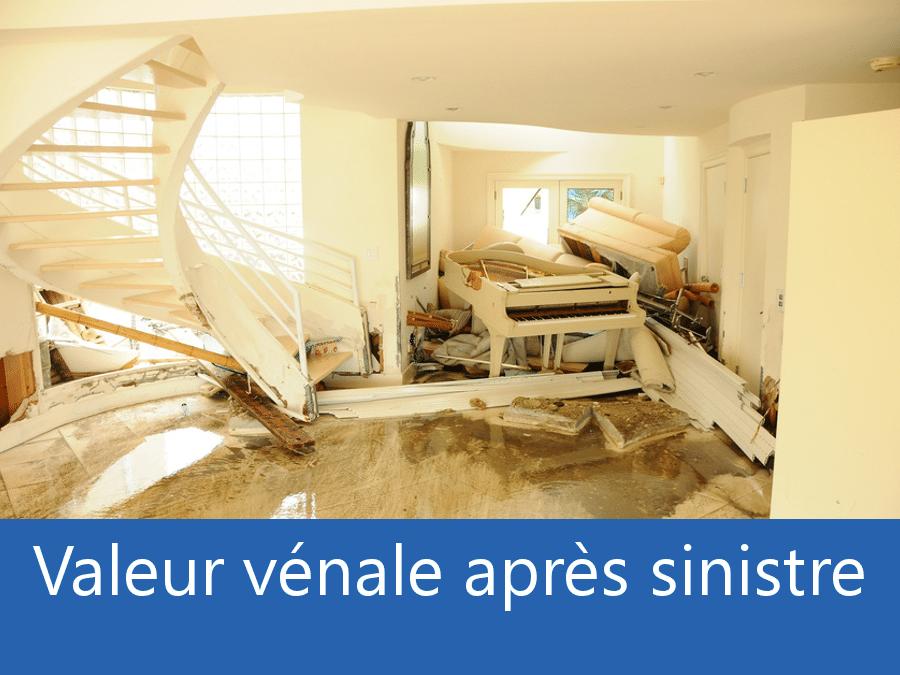 Valeur vénale après sinistre 75 Paris